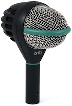 D112 microphone rental