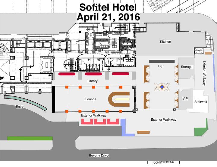 Sofitel Hotel Master Layout