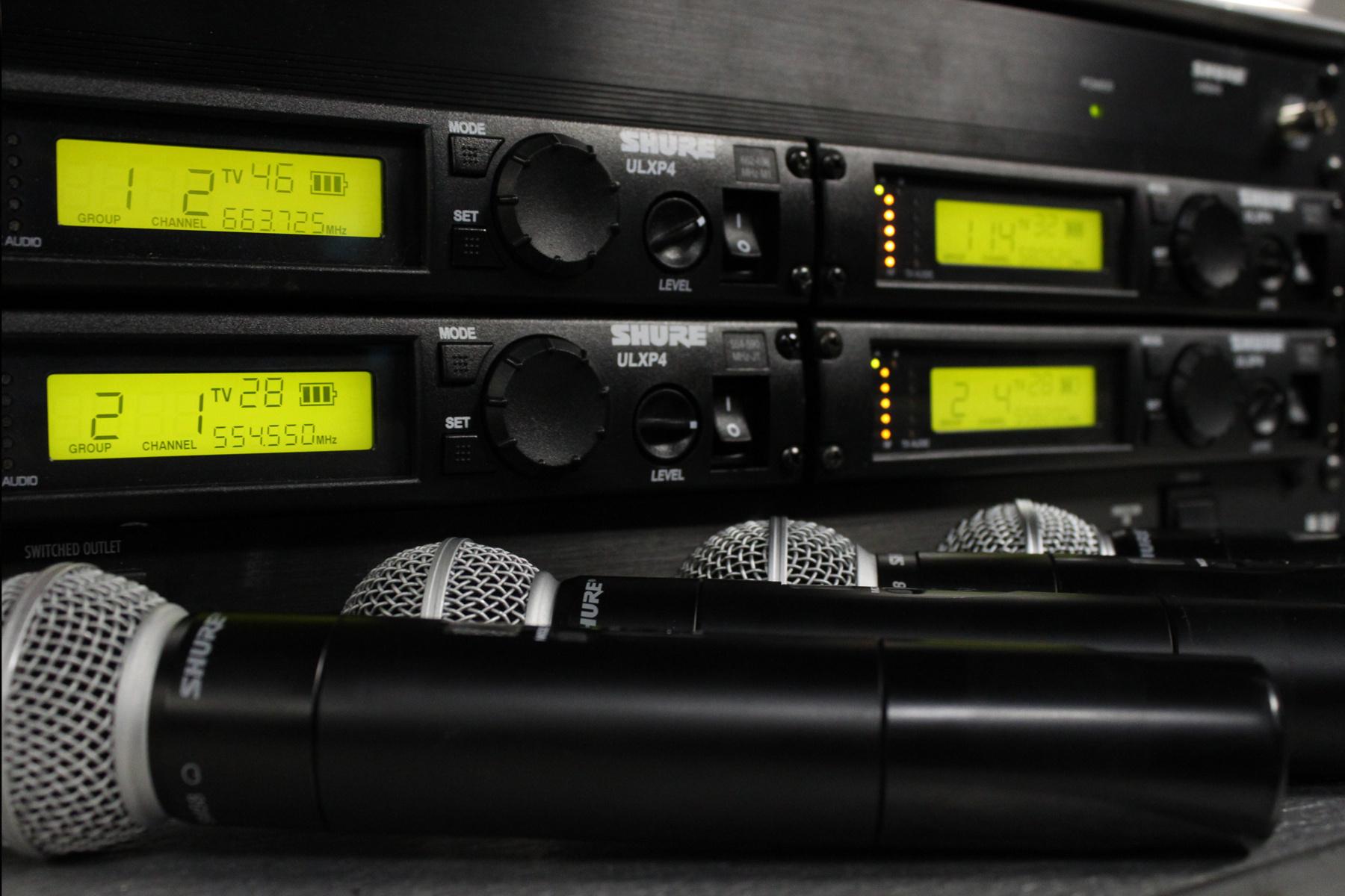 pro audio equipment tsv