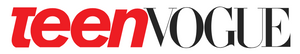 Teen Vogue Logo on White Background