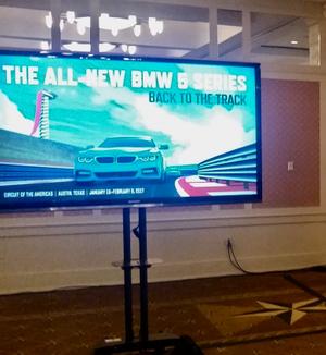 flat screen auto event