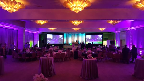 Ballroom Lighting for Corporate Event