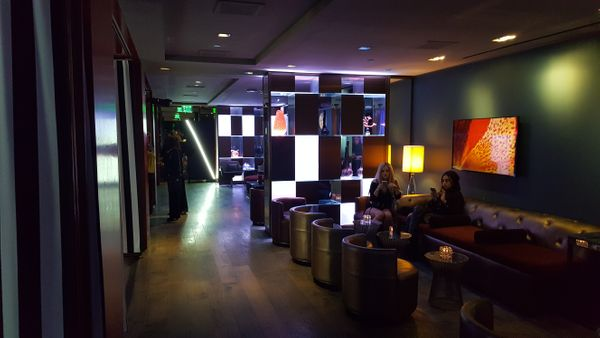 Sofitel lounge area in venue