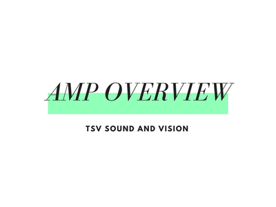 amp overview
