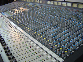 Sound System Rental Large Pro Audio Mixer