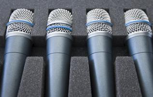 Sound System Rental Shure Microphones