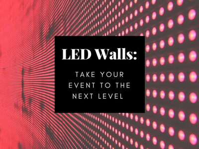 how led walls can take your event to the next level