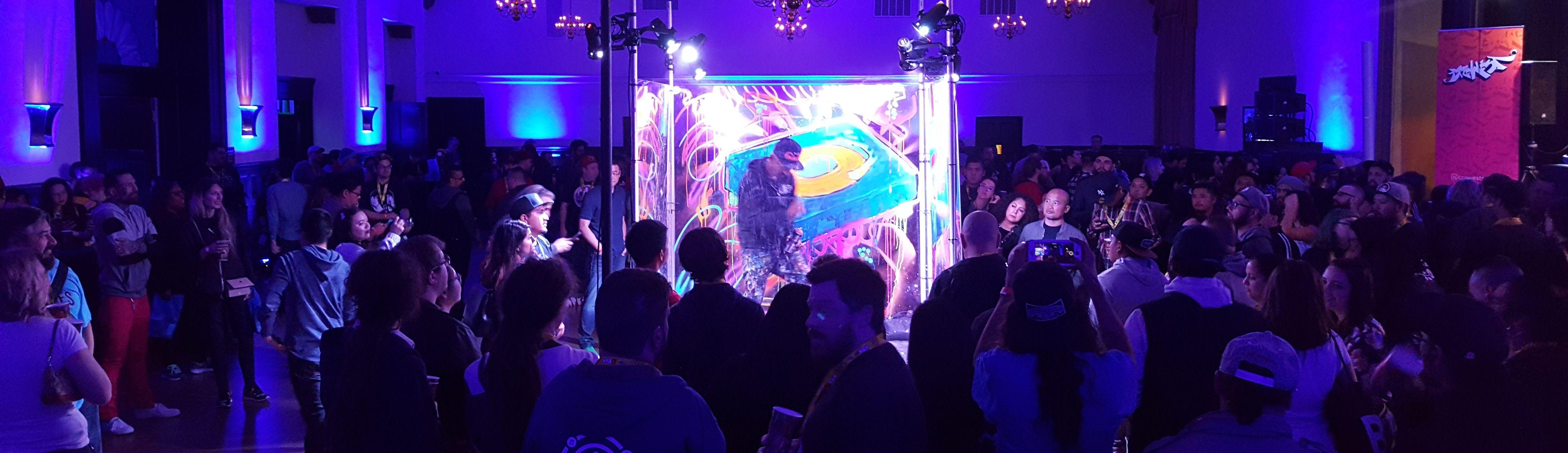 experiential marketing event in LA