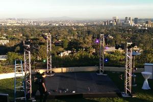 Outdoor event in LA