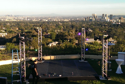 Outdoor event in LA
