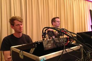 Andrew running sound for TSV