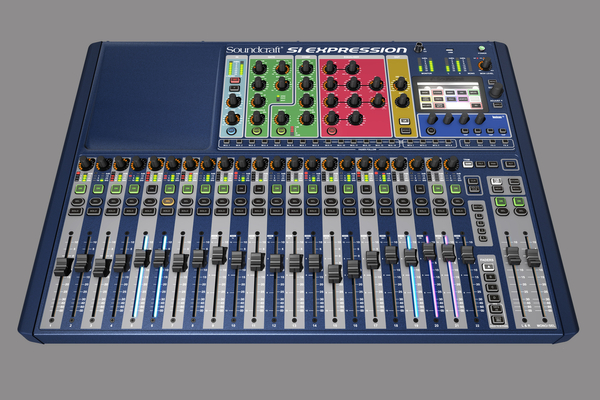 Si Expression Mixing Console