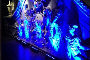 LED Sculpture lighting rental