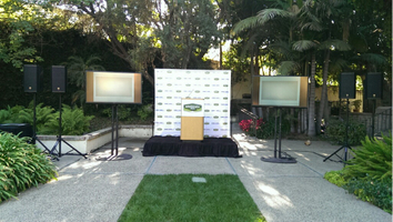 TSV event set up