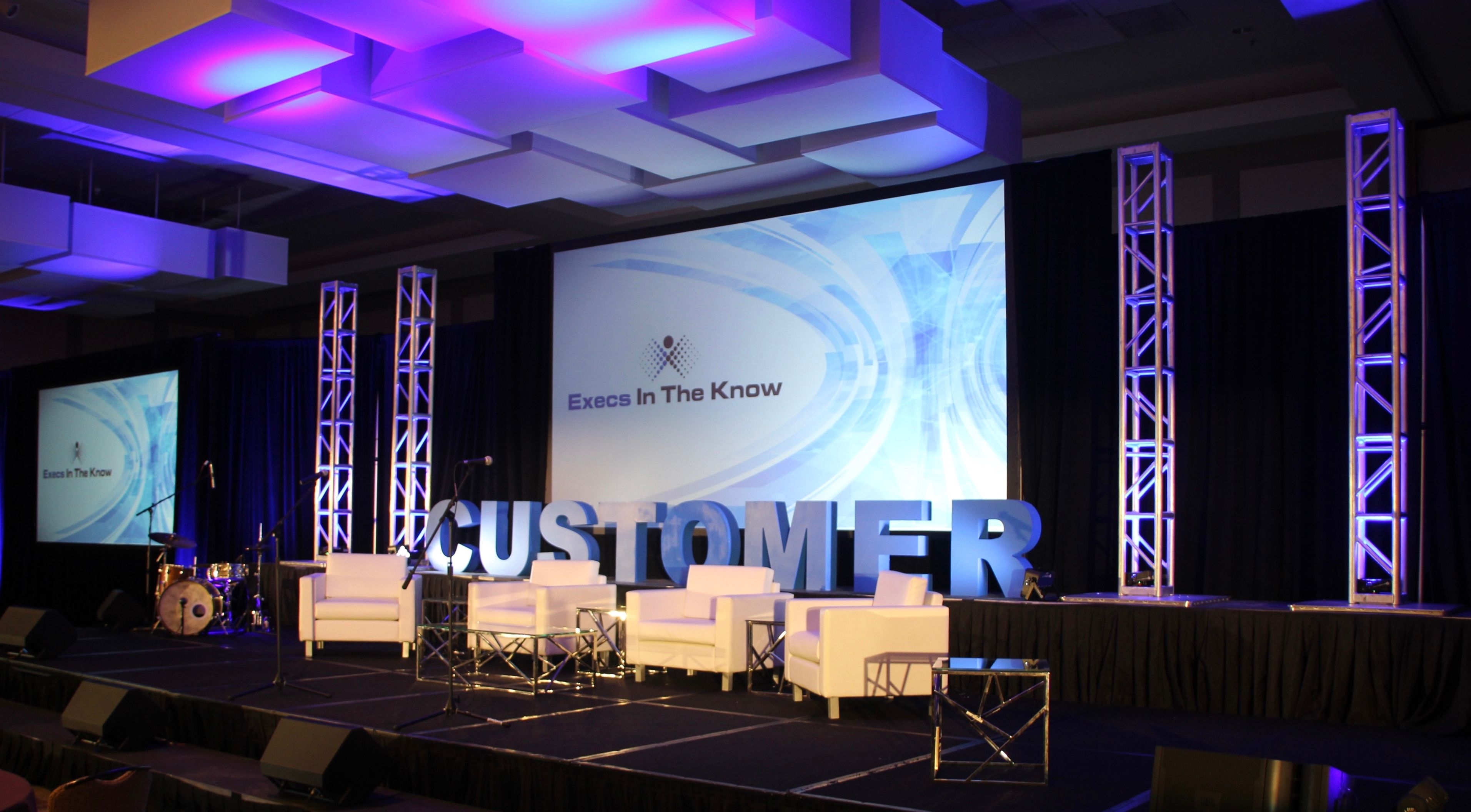 Execs in the know conference stage