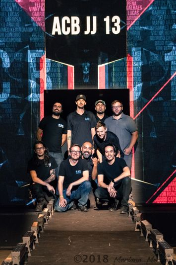 Image of TSV Sound and Vision Los Angeles team in front of led video wall