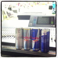 Red Bull Cans Audio Rentals