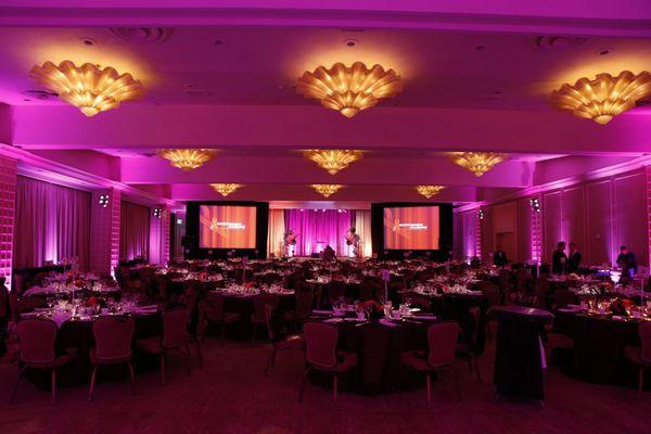 The Beverly Hilton Ballroom