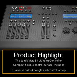Product Highlight Jands Vista S1
