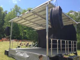 Stageline SL50 Mobile Stage