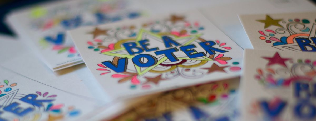 Be a Voter Photo by Dan Dennis