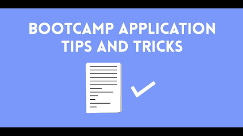 Bootcamp Application Tips and Tricks - Skills Fund - Skills