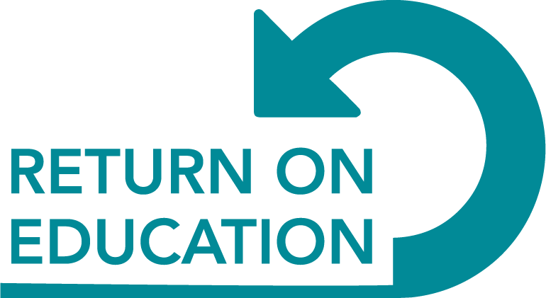 Return on Education Logo