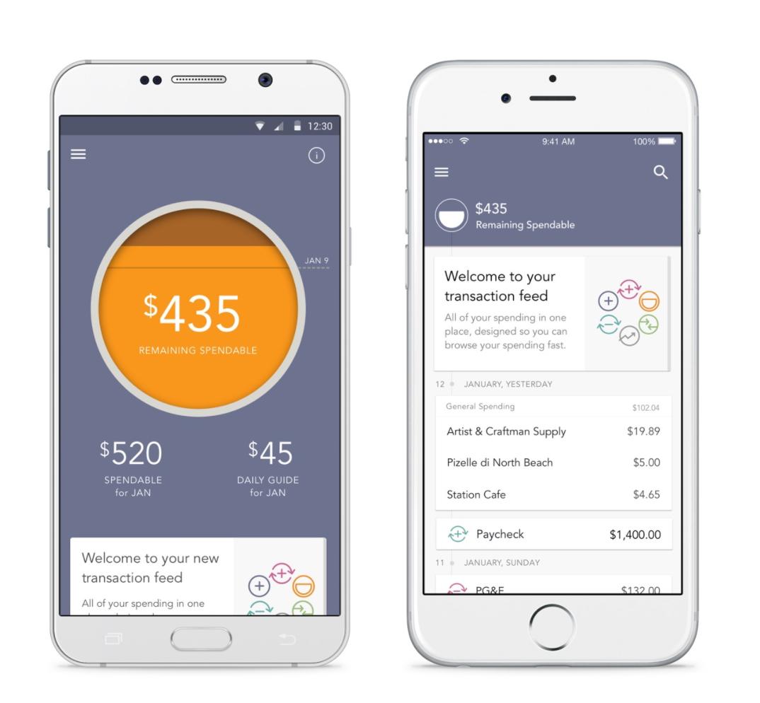 Level budgeting app
