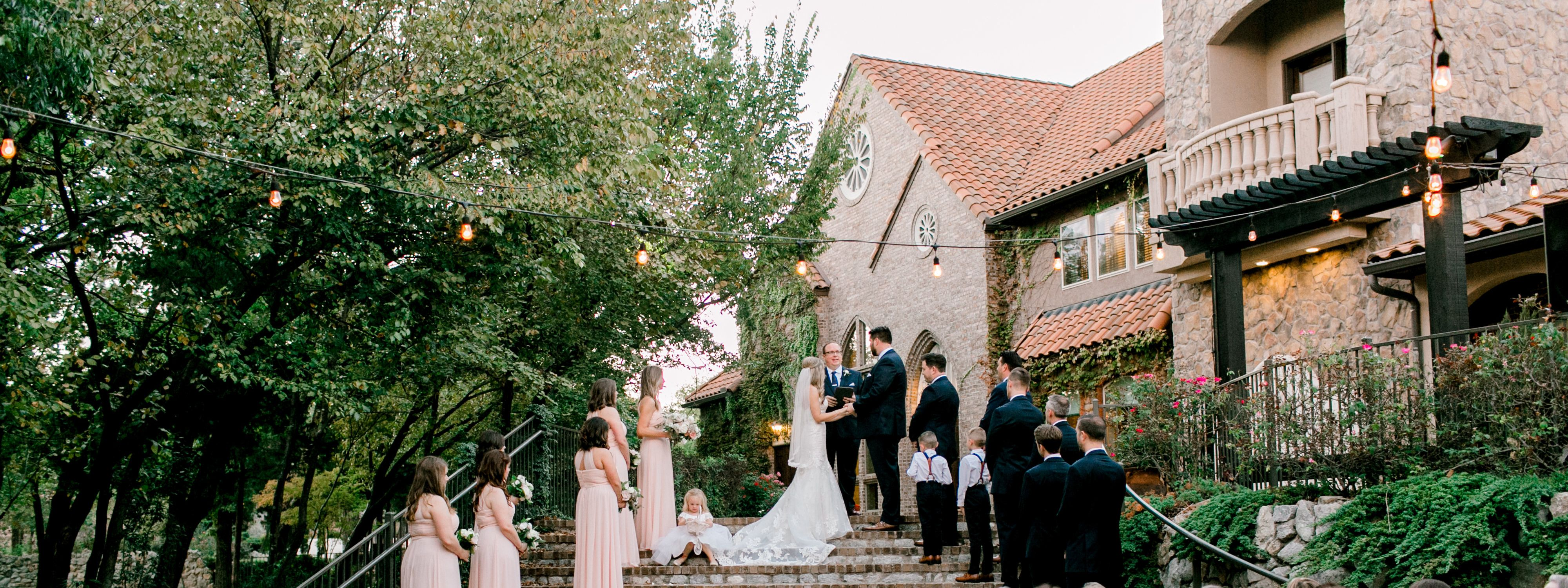 mansfield wedding venue ceremony outdoor