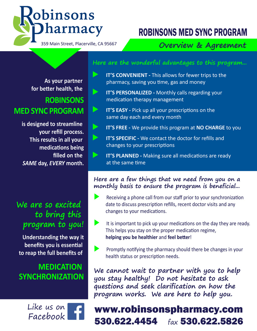 Robinsons Pharmacy med sync flyer.png