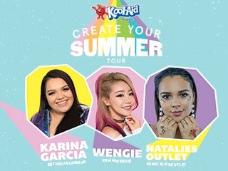 Create Your Summer Tour – Featuring Karina Garcia, Wengie, & Natalies Outlet