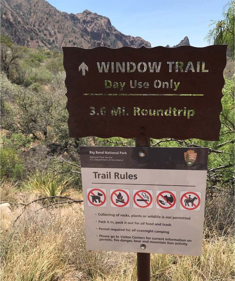 Window Trailhead