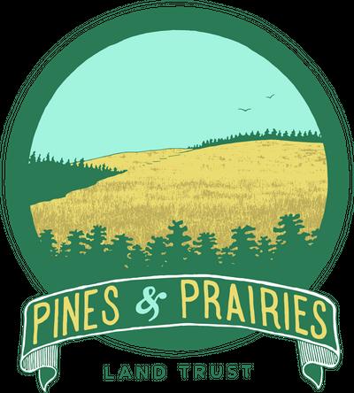 Pines and Prairies Land Trust Logo