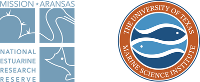 University of Texas Marine Science Institute/Mission Aransas National Estuarine Research Reserve Logo