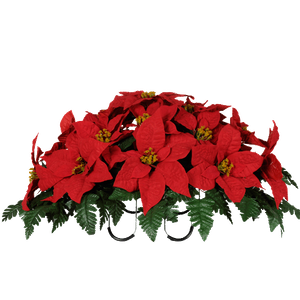 Saddle SD8011-Red-Poinsettia Christmas.png