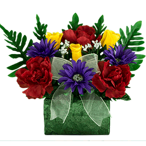 Brick BR2381-Red-Peony-Yellow-Rose-Purple-Daisy.png