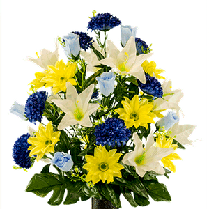 Large Bouquet LG2172 Yellow-Gerbera-and-White-Lily-Mix.png