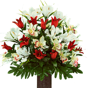 Medium Bouquet MD2309-Red-Tulips-and-White-Iris.png