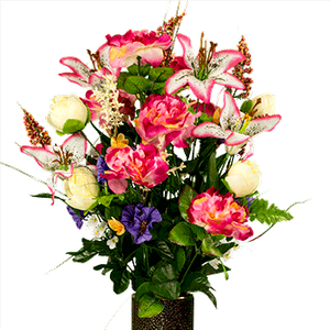 Small Bouquet SM1259-Pink-Cream-and-Lavender-Spring-Mix.png