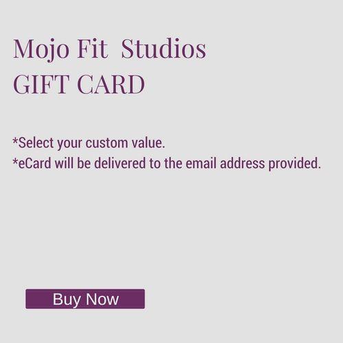 Mojo Fit Studios Gift Card
