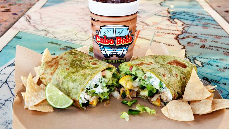 photo about Cafe Rio Printable Menu referred to as Cabo Bobs