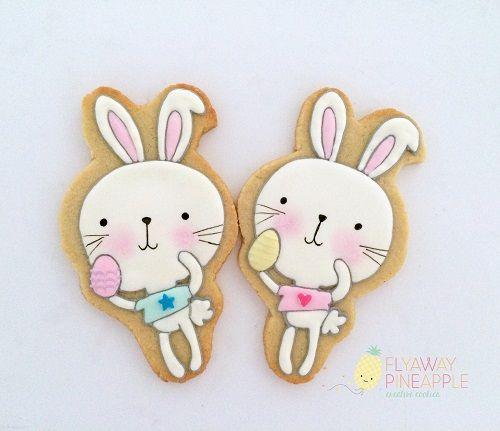 Easter Cookies, Easter Bunny Cookies, Rabbit Cookies.JPG