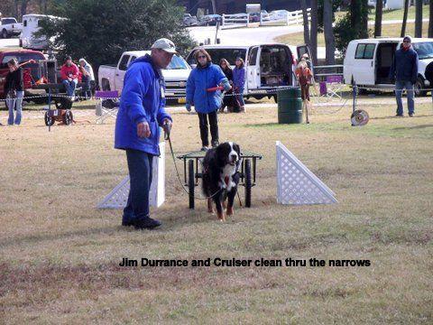 Jim Durrance & Cruiser clear the narrows.JPG