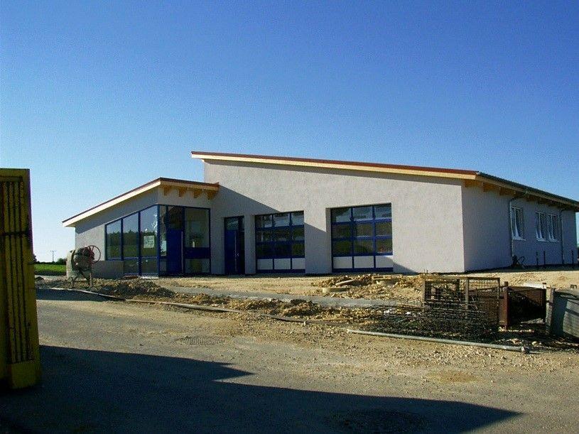 Das neue Gebäude entsteht