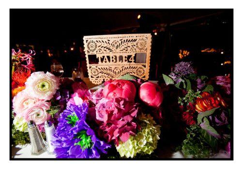 austin wedding table decor