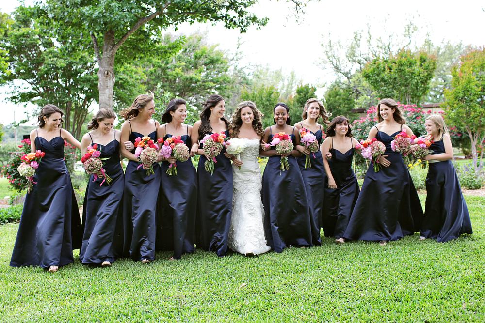Keri & Brian bride and bridesmaids