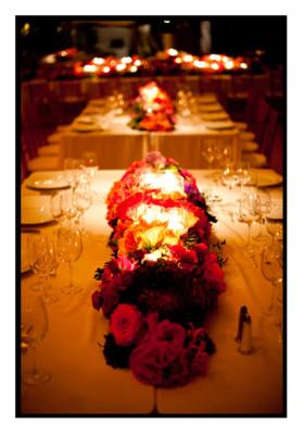 table decor for weddings