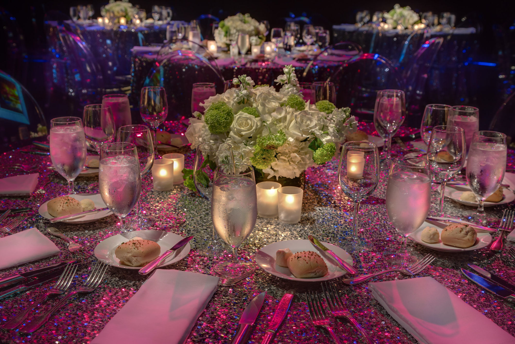 special event table decor