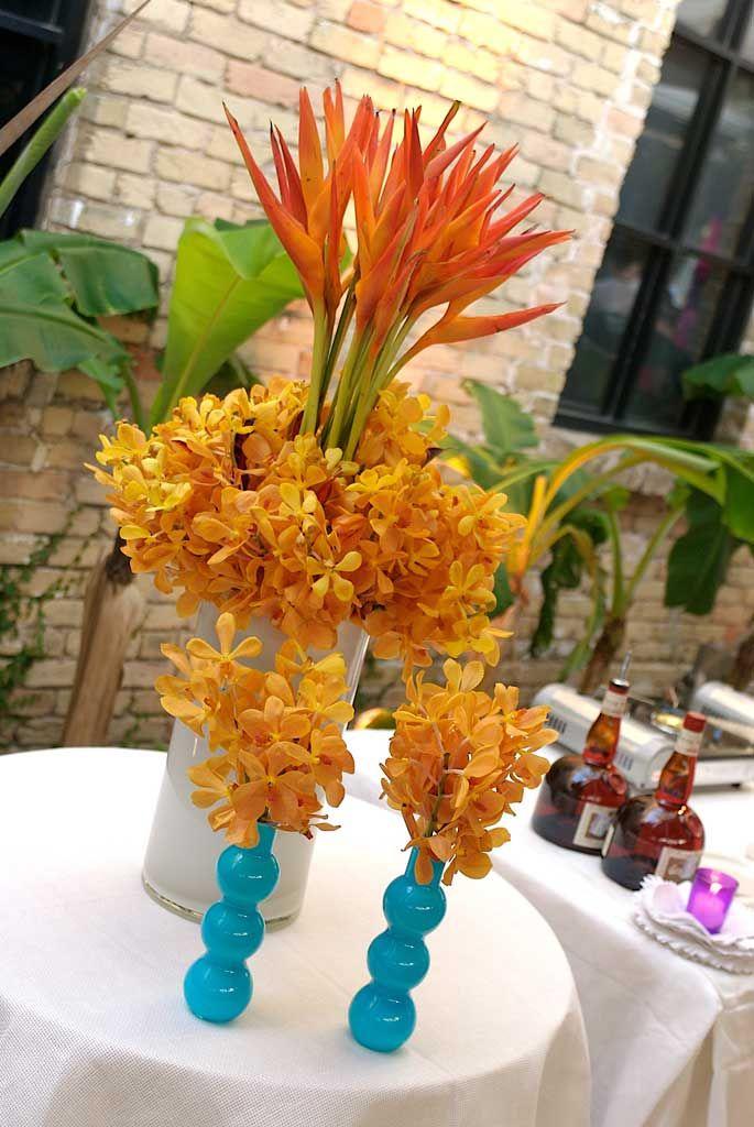 outdoor floral arrangement