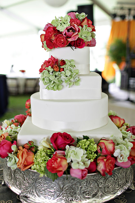 Keri & Brian bride's cake